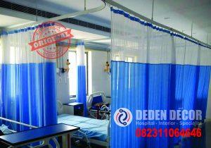 Jual Gorden Rumah Sakit Full Plastik di Pa'baeng-Baeng Anti Darah